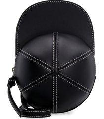 j.w. anderson cap leather crossbody bag