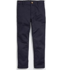 tommy hilfiger boy's adaptive stretch chino sky captain - 6