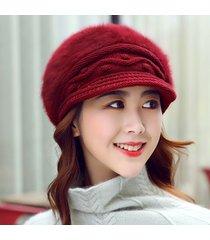 cappello estensibile per donna da viaggio con cappello caldo in maglia da donna, estensibile, con cappuccio capelli