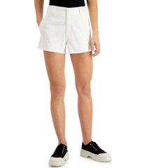 dickies juniors' frayed denim shorts