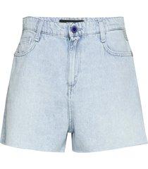 shorts chino broek blauw replay