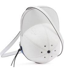 jw anderson cap crossbody bag - white