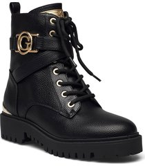 odanna shoes boots ankle boots ankle boot - flat svart guess