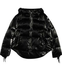 monnalisa black down jacket