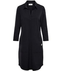 &co woman and co jurk pleun black plain