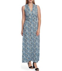 women's vince camuto peony fields floral maxi dress
