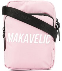 makavelic cross-tie pouch bag - pink