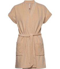 terry jersey kimono morgonrock beige filippa k soft sport