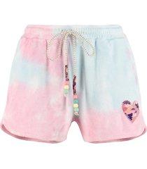 loveshackfancy careen terry cloth shorts