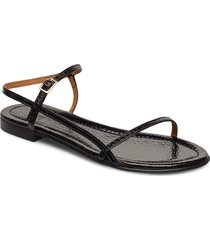 sandals 4132 shoes summer shoes flat sandals svart billi bi