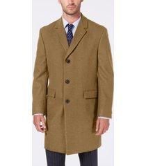 nautica men's melton classic/regular fit batten overcoat