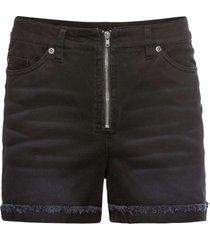 shorts a vita alta (nero) - rainbow