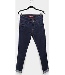 calça jeans biotipo alice plus size skinny feminina