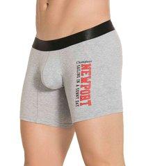 boxer newport gris para hombre croydon