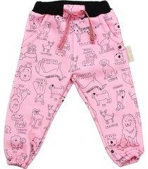 pantalón rosa cante pido by flavio mendoza pink dog