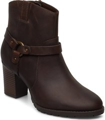 verona rock shoes boots ankle boots ankle boots with heel brun clarks