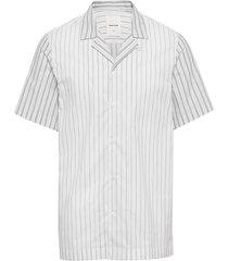 brandon shirt overhemd met korte mouwen wit wood wood