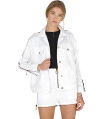 dauntless maisie zipped denim jacket