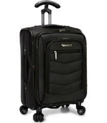 "traveler's choice silverwood 21"" carry-on softside spinner"