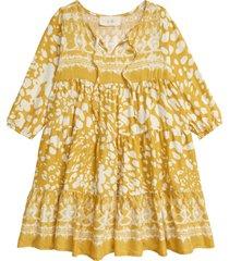 girl's en elly kids' long sleeve maxi dress