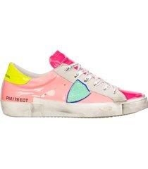 scarpe sneakers donna in pelle paris