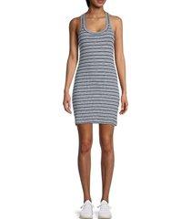 splendid women's midnight striped tank dress - midnight - size s