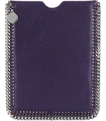 stella mccartney falabella tablet pouch - purple