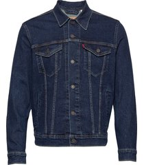 the trucker jacket moon lit tr jeansjacka denimjacka blå levi´s men