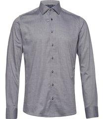 8657 - iver 2 soft overhemd casual grijs sand