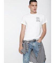 camiseta diesel t-diego branco