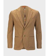 blazer unicolor para hombre slim fit 03603