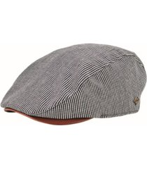 san diego hat men's linen blend stripe driver