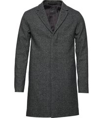 slhbrove wool coat b noos wollen jas lange jas grijs selected homme
