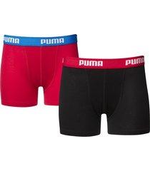 puma jongens boxershorts 2 pak 525015001 - 786-128