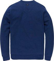 vanguard r-neck interlock biker sweater