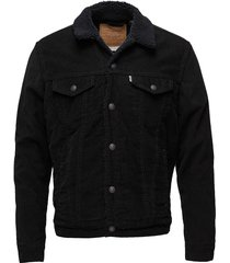 type 3 sherpa trucker black co jeansjack denimjack zwart levi´s men