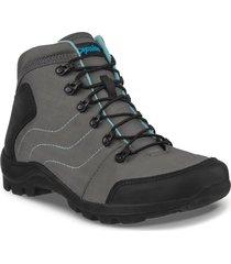 botas outdoor tomoe gris para mujer croydon