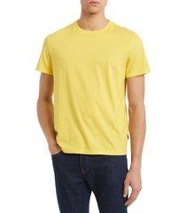 camiseta amarillo calvin klein