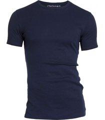 semi bodyfit t-shirt r-neck navy