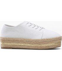 sneaker con plateau (bianco) - bodyflirt