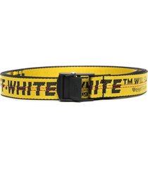 man yellow and black industrial 2.0 belt