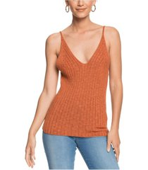 women's moon bird knitted strapped top