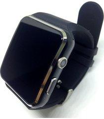 smartwatch reloj inteligente x6 android negro