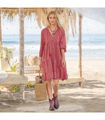 sundance catalog women's scarlet dress in rose xs