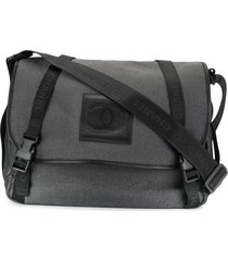 chanel pre-owned sports line messenger bag - grey