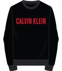 calvin klein sweatshirt black ub1