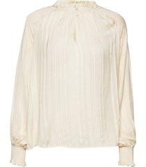 bitt bl blouse lange mouwen crème part two