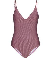 sinyagz swimsuit hs20 baddräkt badkläder rosa gestuz