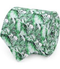 men's cufflinks, inc. palm leaf cotton tie