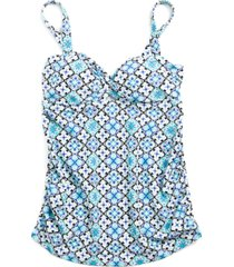 motherhood maternity printed tankini swimsuit